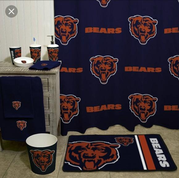Chicago Bears Shower Curtain M 5a77a9c872ea8878c6d65b27